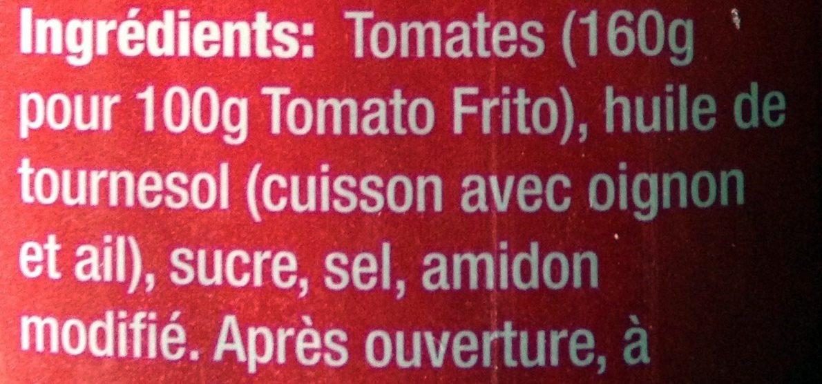 Tomato Frito - Ingrédients - fr