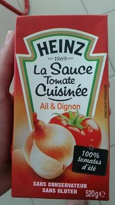 La Sauce Tomate cuisinée Ail & Oignon - Product