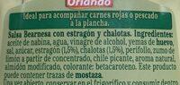 Salsa Bearnesa - Ingredientes