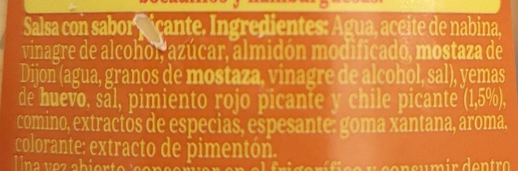 Picantona - Ingrediënten - fr