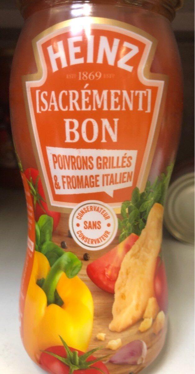 Sauce poivrons fromage italien - Produit
