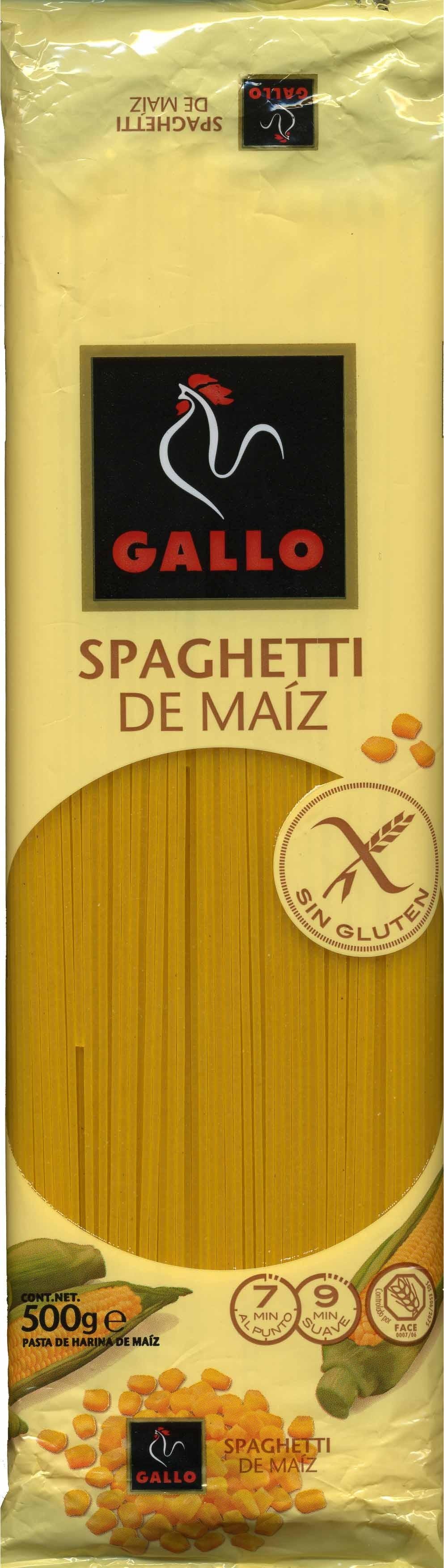 Spaghetti de maíz - Produit - es