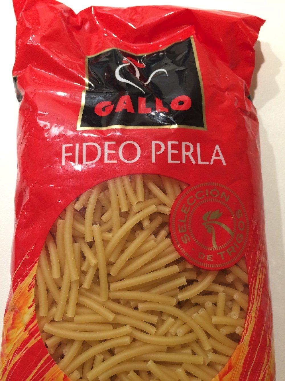 Pasta Gallo Fideus Perla - Producto - fr