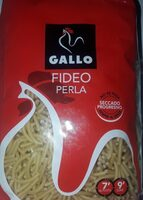 Gallo Pasta Fideos Perla - Informations nutritionnelles - fr