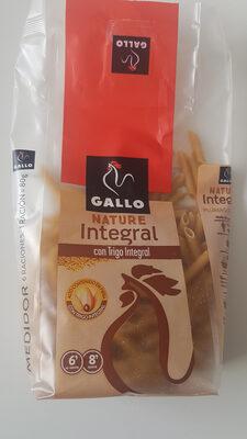 Pasta Plumas Rayadas Integral Gallo - Producto - es