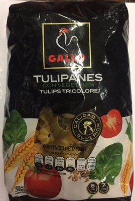 Gallo Pasta Ideal Amanides Tulipes Amb Vegetals (pack 2X500G) - Producto