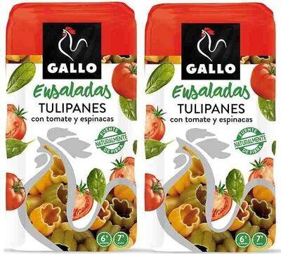 Gallo Pasta Ideal Amanides Tulipes Amb Vegetals (pack 2X500G) - Producto - es