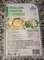 Media Luna Requeson y espinacas - Producto