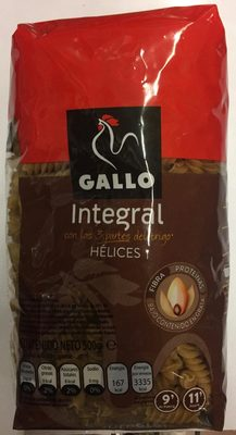 Hélices integral - Producto