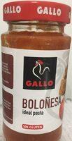 Boloñesa - Produit