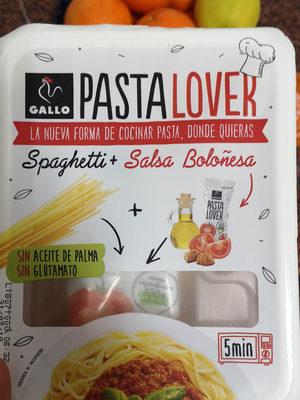 Spaghetti con salsa boloñesa Pastalover - Producto
