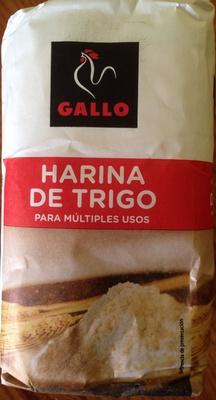 Harina de trigo - Producto