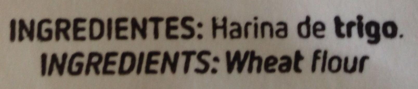 Harina de trigo - Ingredientes