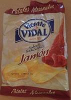 Patatas Artesanales Jamón - Product