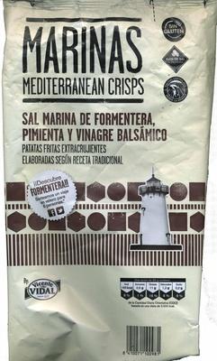 Marinas sal marina de Formentera, pimienta y vinagre balsámico - Produit - es