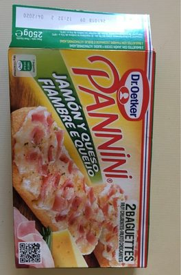 Pannini jambon fromage - Producto