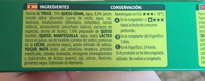 Pannini jambon fromage - Ingredientes