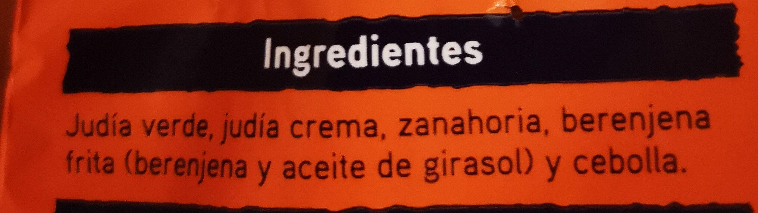 Salteado campestre - Ingredients - es