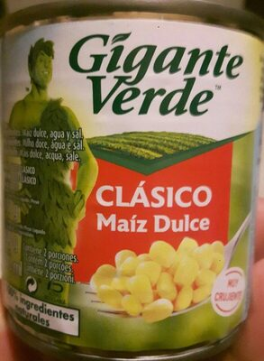 Maíz dulce - Produit