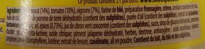 Guacamole Mild Purée à l'avocat finement épicée - Ingredients
