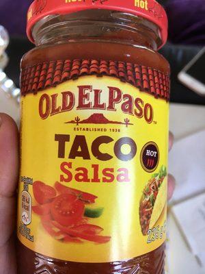 TACO Salsa HOT - Product