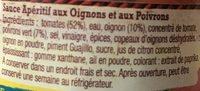 Salsa Dip - Ingredients - fr