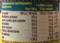 Salsa Dip - Nutrition facts - fr