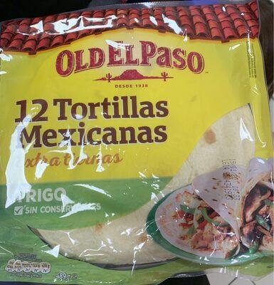 Tortillas mexicanas extra tiernas old el paso