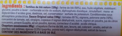 Kit pour Crousti' Fajitas avec Chapelure Croustillante - Ingredients - fr
