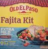 Old El Paso Extra Mild Fajita Kit 476G - Produit
