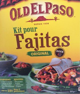 Kit pour fajitas - Produkt - fr