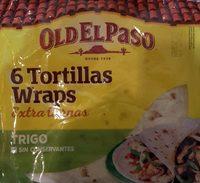 Old el paso tortillas de trigo - Product