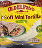 8 soft mini tortillas - Produkt