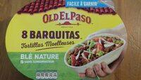 8 Barquitas au blé nature - Produit
