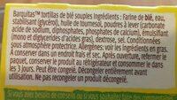 8 Barquitas au blé nature - Ingrédients