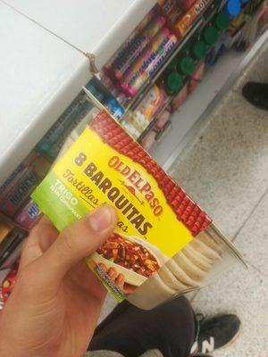 Barquitas mejicanas tortillas - Product