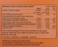 Fajita Kit Medium 483g - Valori nutrizionali - fr