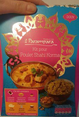 Kit pour poulet shah korma - Product - fr
