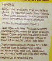 Kit pour tacos avec panadillas Crousti'poulet - Ingredients