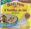 Tortillas de blé nature - Product