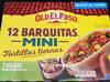 Mini barquitas mexicanas 12 unidades envase 145 g - Product