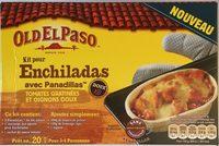 Kit pour enchiladas avec panadillas Tomates gratinées et oignons doux - Product