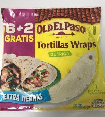 Tortillas mejicanas de trigo wraps