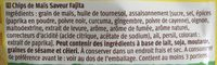 Tortilla chips - Ingredienti - fr