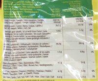 Tortilla chips - Valori nutrizionali - fr