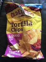 Crunchy Tortilla Chips - Queso - Produit - fr