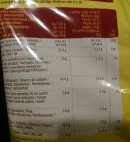 Tortilla chips paprika - Informations nutritionnelles - fr