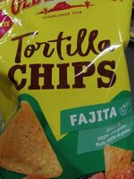 Tortilla chips fajitas - Product