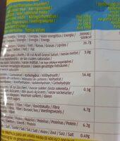 Tortilla Nachips - Nutrition facts - fr