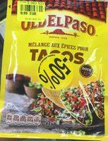 Melange aux epices pour tacos - Product